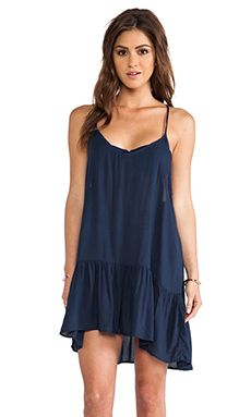 Acacia Swimwear St. Tropez Dress in Indigo