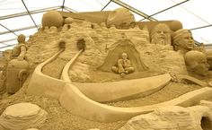 Star Wars' sand sculptures in Weymouth - Star Wars sand sculptures ...