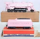pink lionel train - just for us girls