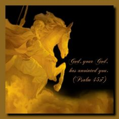 .You love righteousness and hate wickedness; therefore God, your God, has set you above your companions by anointing you with the oil of joy.  Psalm 45:7