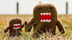 Domo is the fearsome monster mascot for Japan's NHK-TV. Created by animator Tsuneo Goda, the brown creature first appeared in stop-motion animation ads for the station.