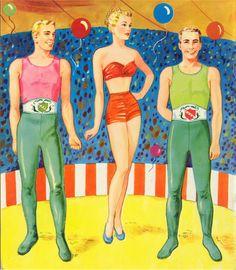 Circus Paper Dolls 1952 Saalfield #2610 - Bobe Green - Picasa Web Albums