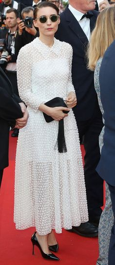 Rooney Mara in Christian Dior attends the Closing Ceremony during the 70th annual Cannes Film Festival. #bestdressed