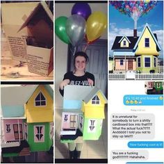 House from Up | 31 Disney Costume Tutorials You Have To Try This Halloween