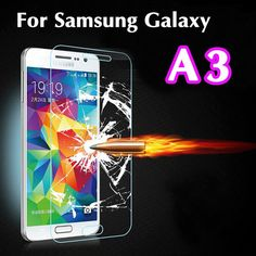 Ultra Thin 2.5D Explosion Proof Premium Tempered Glass Screen Protector Anti-scratch Film For Samsung Galaxy A3 A300 A300F A300H