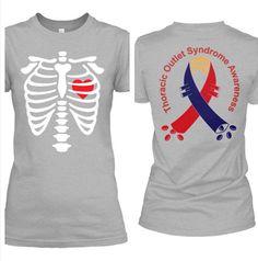 Love this TOS shirt! #thoracicoutletsyndrome Invisible Illness, Sweatshirts, My Style, Stuff To Buy, Fashion, Moda, La Mode, Fasion, Fashion Models