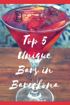 We love nothing more than a quirky and interesting bar! Barcelona is crammed full of speakeasy style hidden cocktail bars to Gatsby style joints. Read about our top 5 favorite unique bars in Barcelona! Barcelona Bars, Barcelona Travel, Barcelona Spain, Speakeasy Bar, Night Bar, Top Cocktails, Best Coffee Shop, Arizona Travel, Adventure Is Out There