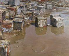 Michael Kareken, Compressed Oil Drums http://www.michaelkareken.com/