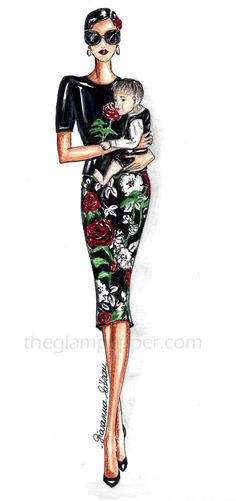 - The Glam Pepper Fashion Illustrations, Fashion Sketches, Sketches Of People, Wonder Woman, Superhero, My Style, Beautiful, Beauty, Women