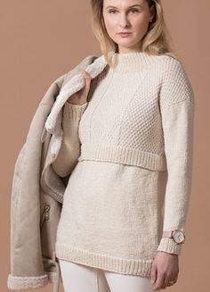 The Ultimate Knitting Experience Diy And Crafts Sewing, Arts And Crafts, Winter 2018 Fashion, Vogue Knitting, Knitwear, Pullover, Wool, Crochet, Lace