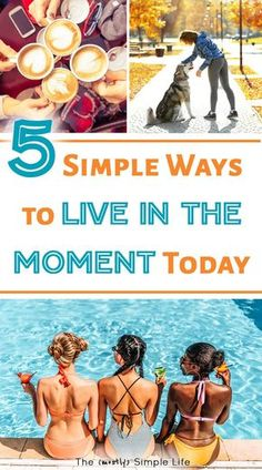 It takes effort to learn how to live in the moment! Better relationships with loved ones, kids, and more happiness in your life y'all! Love these tips for being present and using more mindfulness in your life. #mindfulness #happiness #lifehack #liveinthemoment #inthemoment via @mostlysimple1
