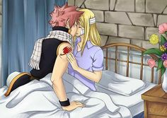 Natsu and Lucy <3