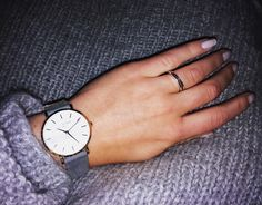 Just got my Rosefield watch <3
