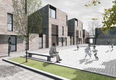 Social Housing in Brick Masonry on Architizer