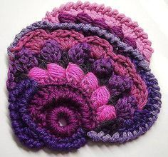images for crochet freeform patterns free - Google Search