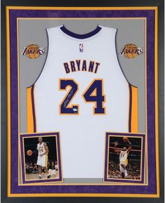 Kobe Bryant Lakers Dlx Framed Autographed White Adidas Swingman Jersey - Panini  Bryant Lakers 9f16540d8