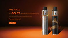 VAPE PEN 22 would be perfect to you! Vape Pen $24.99 Promotion is running hot…