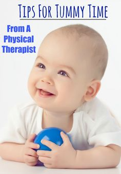 Tips For Tummy Time From A Physical Therapist - Pink Oatmeal