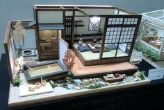Doll House Exhibition at Gallery in Blumen Hugel  Farm in Shiga, Japan May 2013