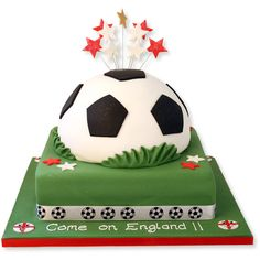 Come on England Cake freshly made, delicious and delivered