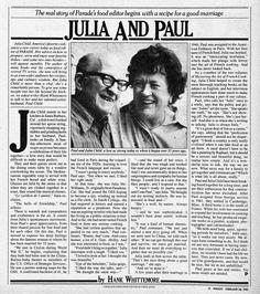 Paul and Julia