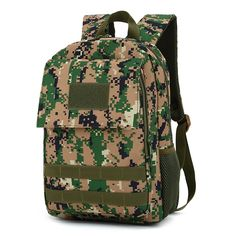 19.98$  Watch here - Men Women Military Backpack Camouflage Tactics Backpack Molle Computer Camouflage Bag Travel Backpacks  #buymethat
