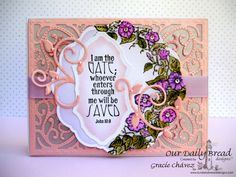 Graciellie Design - Our Daily Bread Designs, ODBDSLC222, Morning Glory, Glory stamp set, Spectrum Noir, alcohol markers, Spring card