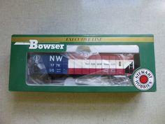Bowser Norfolk & Western Bicentennial 1776 HO Scale 100 Ton Hopper w/ Box…