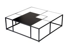 Tetris #coffeetable #design by Lestrocasa Firenze #interiordesign #home #steel #modern #colours #Lestrocasa