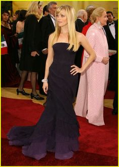 2007:Reese Witherspoon in Nina Ricci by Olivier Theyskens.