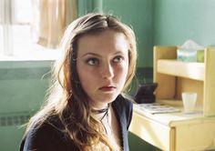 Katharine Isabelle in the movie: Ginger Snaps Ginger Snaps Movie, Katharine Isabelle, Sarah Bolger, Celebrity Diets, Navel Piercing, Badass Women, Dark Hair, Actors & Actresses, Celebrities