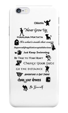 With these enchanting iPhone cases, we can relive and embrace our Disney nostalgia daily — because we're never too old for these classic characters and Funny Phone Cases, Iphone Cases Quotes, Diy Phone Case, Iphone Phone Cases, Iphone Case Covers, Color Bordo, Iphone Cases Disney, Accessoires Iphone, Coque Iphone 6