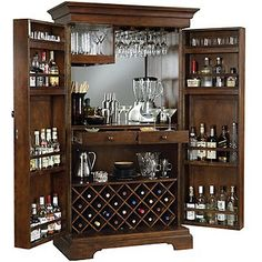 Howard Miller Barossa Valley Wine & Bar Cabinet - Wine Enthusiast