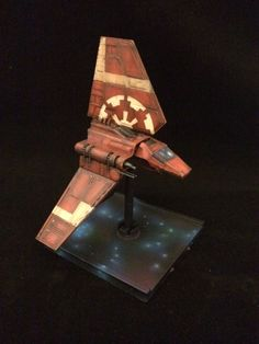 Repainting Star Wars X-Wing miniatures pt 2 The Imperial Remnant fleet | workbenchwarrior's Blog