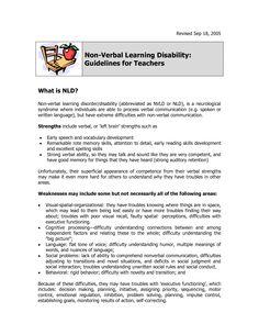 NLD for Teachers