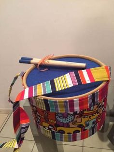 Barn Wood Crafts, Special Needs, Handmade Toys, Drums, Fun Crafts, Children, Kids, Musicals, Basket
