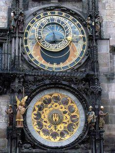 Prague Astronomical Clock by John Mappley, via Flickr