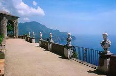 Ravello (Salerno, Italy) - Panorama da Villa Cimbrone (Panoramic view from Villa Cimbrone)