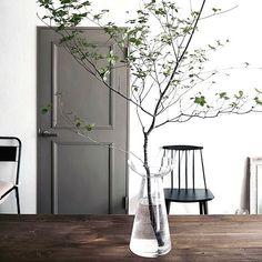 Grey Interior Design, Interior Display, Green Interiors, Minimalism Interior, Interior Deco, Gray Interior, Home Decor, House Interior, Home Deco