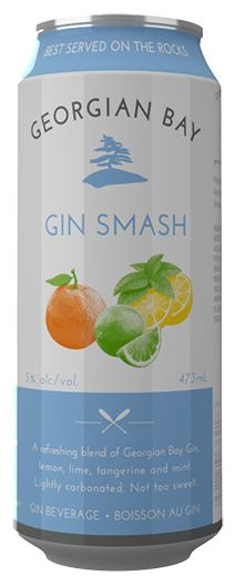 A refereshing blend of Georgian Bay Gin , lemon, lime, tangerine and mint. Lightly carbonated. Not too sweet.