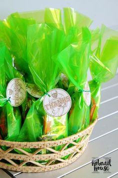 Simple Tailgate Birthday Party | Hobnail House | Goodie Bag