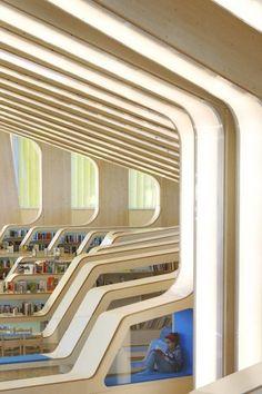Vennesla #Library, Norway by Helen + Hard; Photo: Hufton + Crow