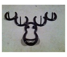 Handmade horseshoe wall art- personalized names. is a Arts & Crafts for Sale in Moses Lake WA