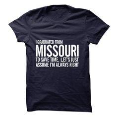 Graduated Missouri T Shirt, Hoodie, Sweatshirt