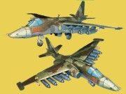 Sukhoi Su-25 Frogfoot Free Aircraft Paper Model Download