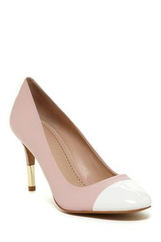 Pour La Victoire Ellie Cap Toe Pump by Non Specific on @HauteLook