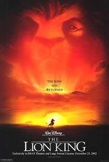 The Lion King (1994) - My favorite factoid about Disney's The Lion King is that the original screenplay was inspired and based on Joseph & Moses from the Bible and on William Shakespeare's Hamlet.  One of the more powerful story lines in my opinion.