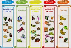 Trabajando en Educación Infantil: Desayunos saludables 1