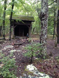 Blue Mountain Shelter,Pinhoti trail