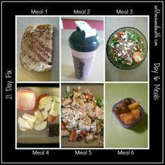 21 day fix day 16 meals Weekly meal plan updated on Mondays with a vlog! asfitnessandhealth.com/blog
